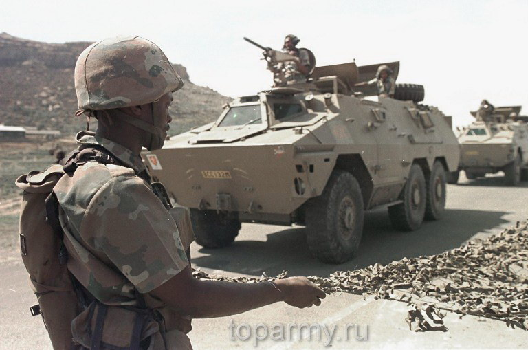 South Africans encountered resistance upon arrival 22 September to restore order in the trouble-torn tiny and impovarished mountain kingdom. South African and Botswana forces where deployed following 8 weeks of political instability in Lesotho due to disatisfaction of political parties with May 23rd general elections results